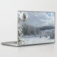 Scenery Forest Winter Wo… Laptop & iPad Skin