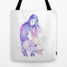 Galaxy Wanderer Tote Bag