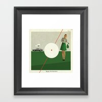Blame The Sunshine | Col… Framed Art Print