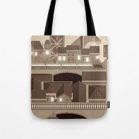 Townscape Vintage Tote Bag
