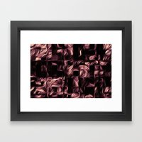 Silk - Bronze Wash Framed Art Print