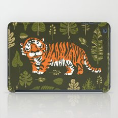 Tiger in forest iPad Case
