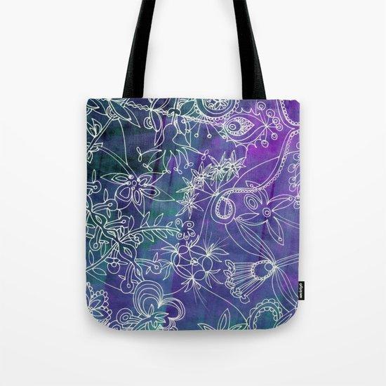 Insidious Flowers Tote Bag
