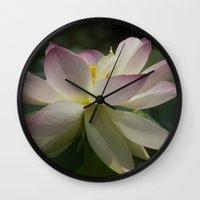 Lotus flower 2 Wall Clock