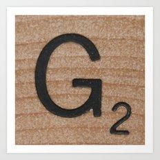 Tile G Art Print