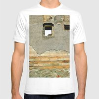 Still Standing Mens Fitted Tee White SMALL