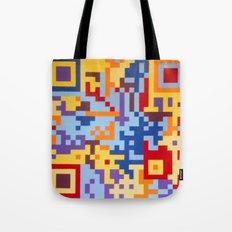 Number Three Multicolour Series  Tote Bag