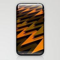 3D Chevrons iPhone & iPod Skin