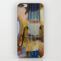Violin Painting iPhone & iPod Skin