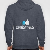 I Like Christmas (with Y… Hoody