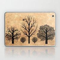 Trees Silhouette  Laptop & iPad Skin