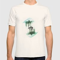 Jellyfish Mens Fitted Tee Natural SMALL