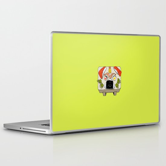 Pug Sushi  Laptop & iPad Skin