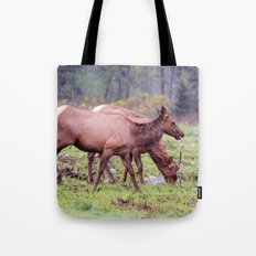 Snoqualmie Valley Elk Tote Bag