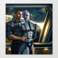 Mass Effect - Always Her… Canvas Print