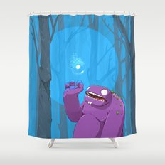 Ghost of Mello Marsh Shower Curtain