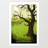 Elgar Cello Concerto Art Print