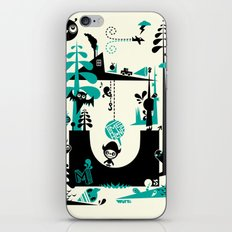 Time Alone iPhone & iPod Skin