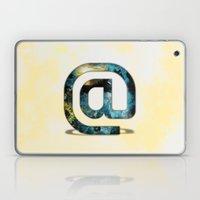 At Sign {@} Series - Sil… Laptop & iPad Skin
