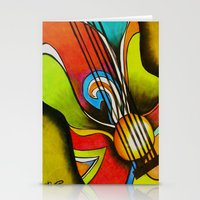 Untitled (Guitar)  Stationery Cards