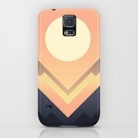 Galaxy S5 Cases featuring The Sun Rises by Budi Kwan