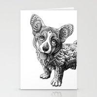 Corgi Puppy Stationery Cards