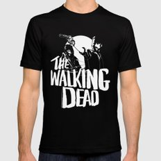The Walking Dead SMALL Black Mens Fitted Tee