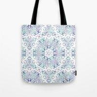 Harmony In Blue Tote Bag