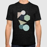 Graphic 113 Mens Fitted Tee Tri-Black SMALL