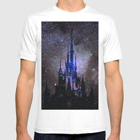 Fantasy Disney Mens Fitted Tee White SMALL