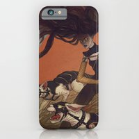 iPhone Cases featuring War Cats by Lenka Simeckova