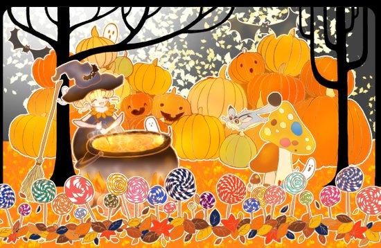 Halloween 2012 Art Print