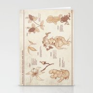 Herbology Reference Char… Stationery Cards