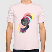 REPEAT SYSTEM Mens Fitted Tee Light Pink SMALL