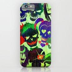 Suicide Squad Skulls iPhone 6 Slim Case