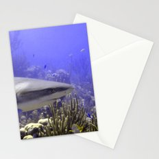 Shark Swimming Past Stationery Cards