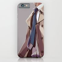 iPhone & iPod Case featuring In Plumed Procession by Blue