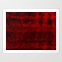 Blood Drop  Art Print
