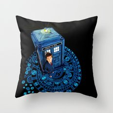 Doctor who at Arch of time Zone iPhone 4 4s 5 5c 6, pillow case, mugs and tshirt Throw Pillow