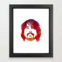 D. Grohl Framed Art Print
