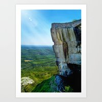 Lover's Leap Art Print