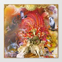 Cupid's Triumph Canvas Print