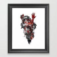 Technographic Framed Art Print