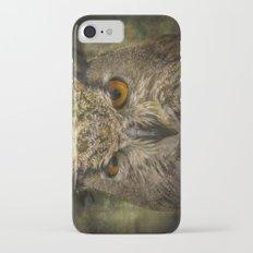 Grumpy Owl Slim Case iPhone 7