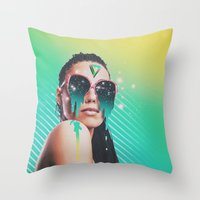 dreamer v01 Throw Pillow