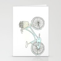Summer Bicycle Stationery Cards