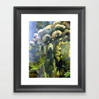 Tarairi Forest Morning Framed Art Print