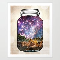 Love Can Move Mountains Art Print