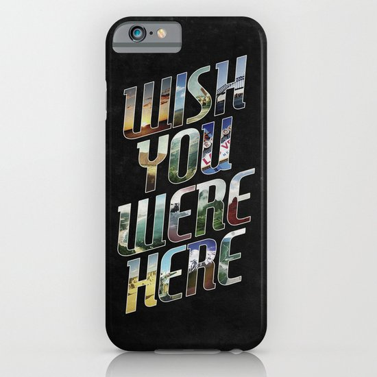 Wish You Were Here iPhone & iPod Case