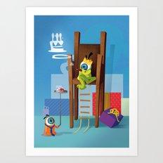 The Eyez - Birthday king Art Print